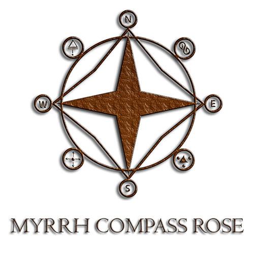 Myrrh Compass Rose