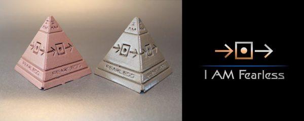 I AM Fearless Pyramid